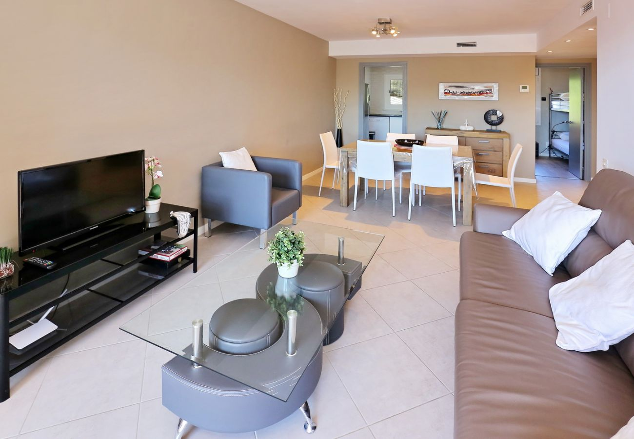 Apartment in Rosas / Roses - CAN PARRAMON PISCINE TENNIS ROSES