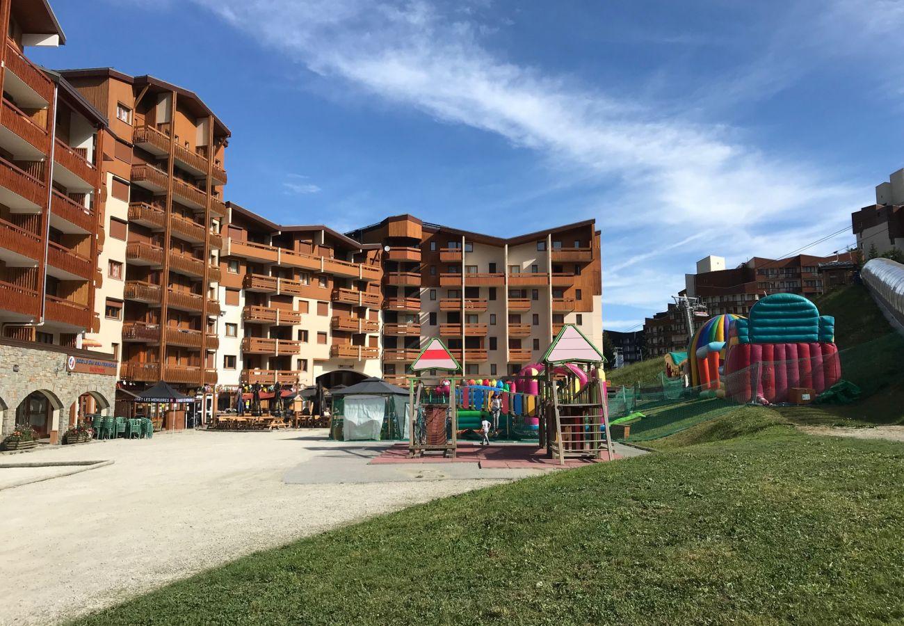 Apartment in Les Menuires - Les Ménuires 3 Vallées pied de piste