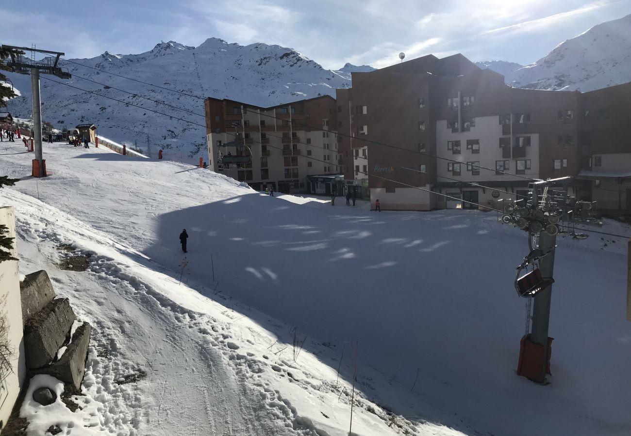 Apartamento en Les Menuires - Les Ménuires 3 Vallées pied de piste