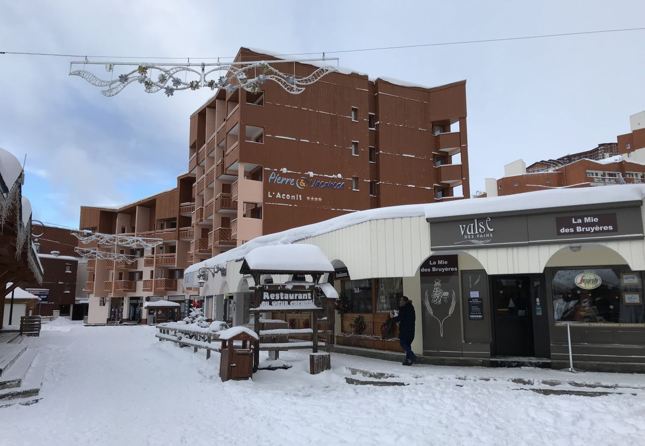 Appartement à Les Menuires - Les Ménuires 3 Vallées pied de piste