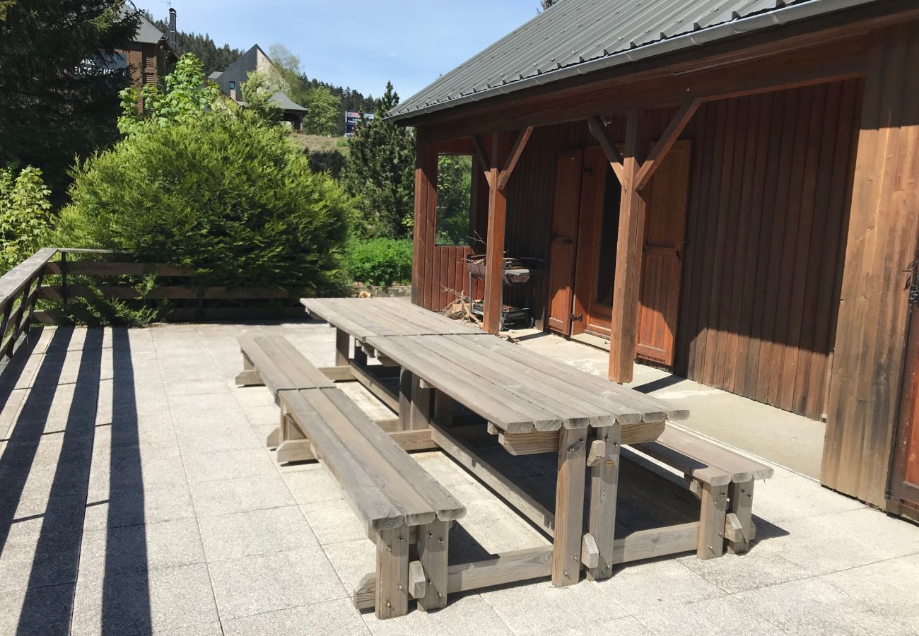 Chalet à Le Lioran - Chalet camp de base pour tribu, sportif,wifi,5 ch